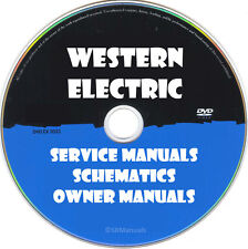 Western Electric Schematics, Manuals & Brochures- PDFs on DVD - Huge Collection