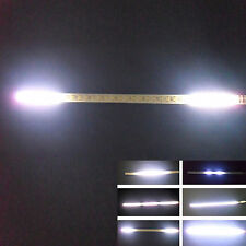 2x White 32-SMD Mini LED Scanner Knight Rider Lighting Strip For Car Interior