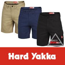 Cargo Work Shorts Hard Yakka Legends ALL SIZES Cotton Navy Khaki Black Y05066