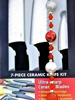 Miracle Blade World Class Series White Ceramic 7-piece Knife Set