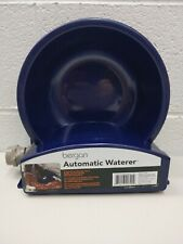 Bergan Auto-Wata Bowl for Dogs & Cats Outdoors Hose Connect New/Open Auto Refill