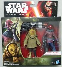 Hasbro Star Wars The Force Awakens Sidon Ithano / Quiggold - Action Figure Set