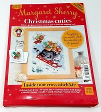 Nip Margaret Sherry Christmas Cuties Complete Cross Stitch Kit