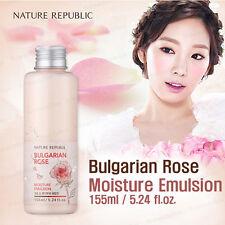 NATURE REPUBLIC Bulgarian Rose Moisture Emulsion 155ml  Korea Cosmetic skin care