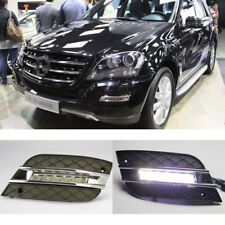 High Power LED Daytime Running Lights Fit 2010-2011 Mercedes Benz W164 ML-Class