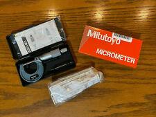 Mitutoyo 103 137 Outside Micrometer Baked Enamel Finish Ratchet Stop 0 25mm