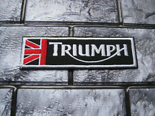Aufnäher Patch Motorradsport Triumph Biker-MC Motorrad Racing Tuning GT FX Race