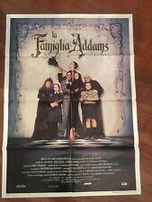 MANIFESTO,2F,S La famiglia  The Addams Family Lloyd  Anjelica Huston Raúl Juliá