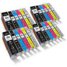 24 Printer Ink Cartridges (6 Set) for Canon PIXMA iP8700, iP8750, MG6340, MG6350