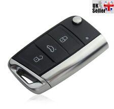 "Replacement 3 Button Flip Key For VW Volkswagen Golf MK7 2012 ""BRAND NEW"""