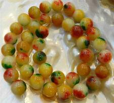 "10mm Yellow Multicolor Kunzite Round Gemstone Loose Beads 15""AAA+6"