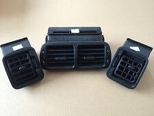 MGF / MG TF BLACK DASHBOARD AIR VENT SET JBD100650PMA JBD100690PMA JBD100680PMA