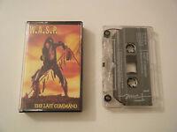 W.A.S.P. THE LAST COMMAND CASSETTE TAPE EMI FAME 1985