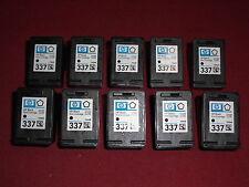 10x leere Original HP 337 leer C9364EE empty virgin cartridge mit Rechnung