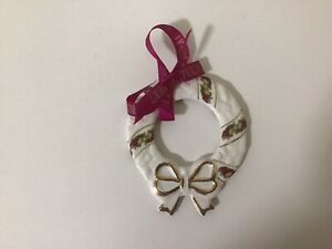 Royal Albert Old Country Roses Ornament BNIB - Lovely WREATH