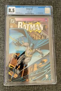 Batman #500 CGC 8.5 (1993) - Collector's Edition - Die-cut cover.  Embossed logo