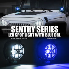 """Xprite 4"""" 21W LED Flood Spot Light  Round Work Driving Light with Guard Cover"""