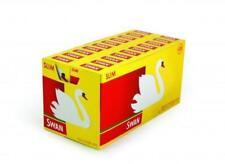 Swan Slim Cigarette Filter Tips - 20 Boxes