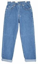 Cotton High L30 Tapered, Carrot Jeans for Women