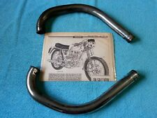 JAMES Superswift 250 M25 Exhaust Downpipes/Headers, Villiers 2T Engine