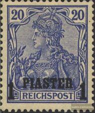 Dt. Post Türkei 14I geprüft gestempelt 1900 Aufdruckausgabe