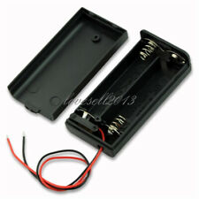 2 AA 2A Battery Holder Box Case with ON/OFF Switch and Cover for 2AA battery NEW