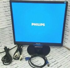 "MONITOR Philips Brilliance 190s 19"" vga dvi 4:3 LCD per pc computer"