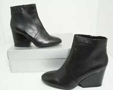 Robert Clergerie Toots Wedge Heel Ankle Boots Black Wedge Size US 9.5 M $695
