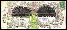 WCstamps: U.S. 1910 Grand Rapids Home Coming Color & Topical Cover With Poster
