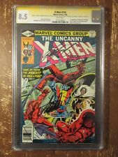 X-Men 129 * CGC 8.5 SS * 1st Emma Frost, Kitty * Signed by Stan Lee, Byrne + 2!
