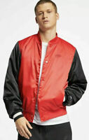 Mens Nike Sportswear Air Woven Jacket Active Wear AR1837-657 Red NEW Size L