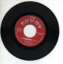 GEO. WALLINGTON TRIO VOL 2 45 RPM EP Record SAVOY 8125 Hyacinth FINE & DANDY +2