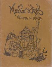 MUDBRICKS , MAKING AND LAYING , 1ST ED 1978