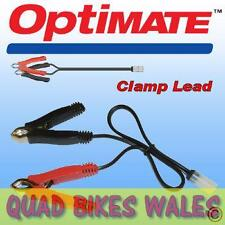 TM74 OptiMate 12v Croccodile Battery Charger Clamp Lead