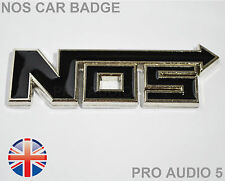 BLACK nn BADGE Boot corpo ALA-protossido di azoto UNIVERSALE AUTO FURGONE CAMION BADGE UK