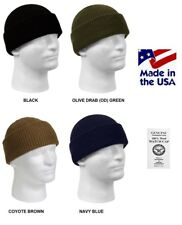 WOOL Watch Cap MADE IN USA Government Issue USGI Navy USMC Army USCG USAF Beanie