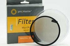 Promaster 86mm DHD Circular Polarizing Filter (86 Polarizer)                #592