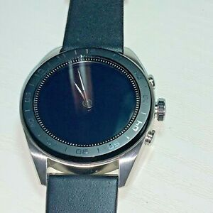 LG W7 (W315) 30 mm Stainless Steel Case with Black New leather strap