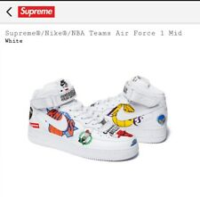 Supreme Air Force 1 White Size 10