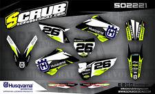 Husqvarna graphics TC 85 decals kit 2014 2015 2016 2017 '14 -'17 SCRUB motocross