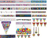 Cheap birthday banners - birthday banners for adults - big birthday banners