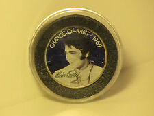Elvis Presley Change of Habit 1969 Colorized Kennedy Half Dollar Coin