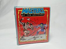 Vintage 1984 Masters of the Universe Mini 3 Ring Binder with Refil Paper