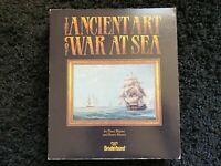 IBM PC Game 1987 Ancient Art Of War At Sea Broderbund 5.25 Floppy Disk Big Box