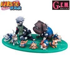 Megahouse G.E.M. Gaiden Naruto Shippuden Hatake Kakashi & Ninken 9 Figure Set