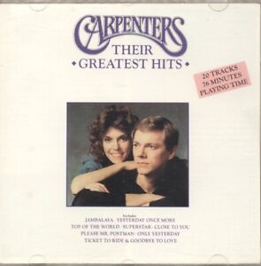 The Carpenters - Their Greatest hits CD 091