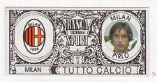 figurina - TUTTO CALCIO EURO MONETE  - MILAN PIRLO