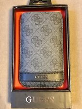 GUESS grey phone case large sleeve.