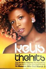 Kelis - The Hits - Rare Original Promo Poster - 20x30 Inches