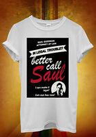 Saul Goodman Better Call Saul Funny Men Women Unisex T Shirt Tank Top Vest 51